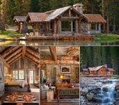 The Headwaters Camp Cabin in Big Sky, Montana.jpg