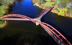 Tri-Bridges at the confluence of two rivers in Midland, Michigan, USA..jpg